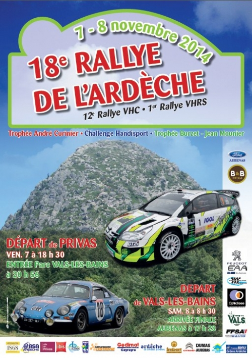 Photo L'ARDECHE AURA SON RALLYE